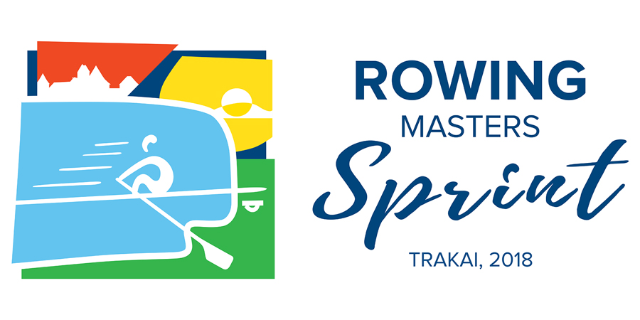 """Tarptautinės regatos """"Rowing Masters Sprint"""" organizavimas Trakuose"""